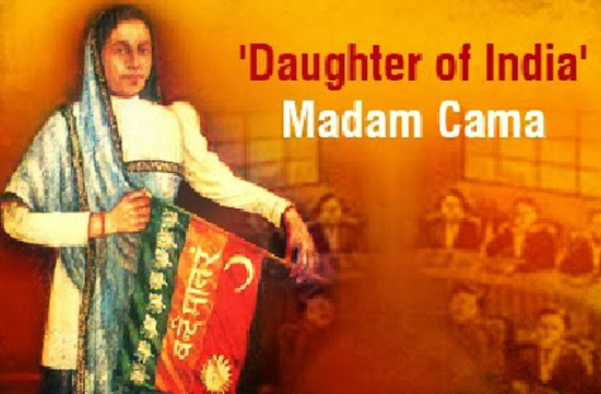 The Woman Who Raised India's National Flag For The First Time